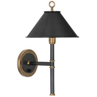Robert Abbey 646 Aaron 1 Light 10 inch Warm Brass with Deep Patina Bronze Wall Sconce Wall Light