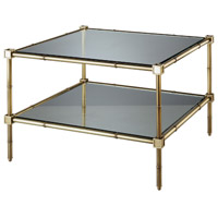 Robert Abbey Meurice Coffee Table in Bn and Glass 658