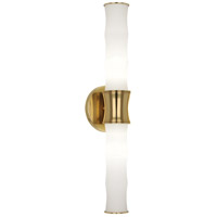 Robert Abbey Jonathan Adler Meurice Side Table in Antique Natural Brass 659