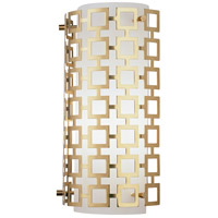 Robert Abbey 662 Jonathan Adler Parker 1 Light 7 inch Antique Brass Wall Sconce Wall Light