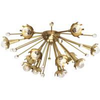 Robert Abbey 711 Jonathan Adler Sputnik 12 Light 24 inch Antique Brass Wall Sconce Wall Light
