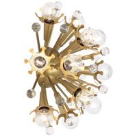 Robert Abbey 715 Jonathan Adler Sputnik 12 Light 14 inch Antique Brass Wall Sconce Wall Light