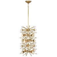 Robert Abbey 717 Jonathan Adler Sputnik 20 Light 15 inch Antique Brass Pendant Ceiling Light