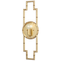 Robert Abbey 769 Jonathan Adler Meurice 1 Light 7 inch Modern Brass Wall Sconce Wall Light