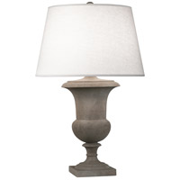 Robert Abbey 832 Helena 30 inch 150 watt Faux Limestone Painted Table Lamp Portable Light in Oyster Linen