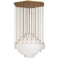 Robert Abbey 865 Jonathan Adler Vienna 3 Light 27 inch Modern Brass Chandelier Ceiling Light