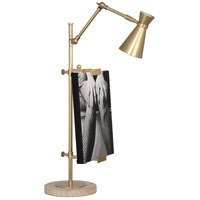 Robert Abbey 875 Jonathan Adler Bristol 28 inch 40 watt Antique Brass Table Lamp Portable Light
