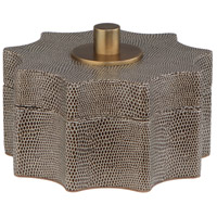 Robert Abbey 895 Anna Faux Brown Snakeskin with Aged Brass Accessory