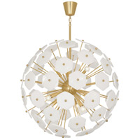 Robert Abbey 899 Jonathan Adler Vienna 12 Light 33 inch Modern Brass Chandelier Ceiling Light