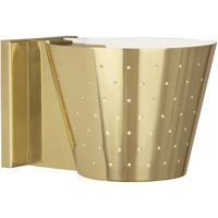 Robert Abbey 982 Pierce 1 Light 8 inch Modern Brass Wall Sconce Wall Light