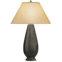 Robert Abbey 9856X Beaux Arts 34 inch 150 watt Antique Rust Table Lamp Portable Light in Translucent Flax