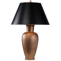 Robert Abbey 9867B Beaux Arts 31 inch 150 watt Dark Antique Copper Table Lamp Portable Light in Black with Gold Tortoise