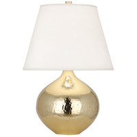 Robert Abbey 9870 Dal 19 inch 100 watt Modern Brass Accent Lamp Portable Light