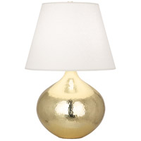 Robert Abbey 9871 Dal 27 inch 150 watt Modern Brass Table Lamp Portable Light