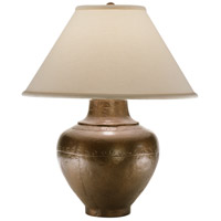 Robert Abbey 9938COP Foundry 26 inch 150 watt Copper Table Lamp Portable Light in Natural