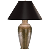 Robert Abbey 9939BCOP Foundry 29 inch 150 watt Copper Table Lamp Portable Light in Black