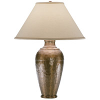Robert Abbey 9939COP Foundry 29 inch 150 watt Copper Table Lamp Portable Light in Natural