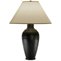 Robert Abbey 9939XRST Foundry 29 inch 150 watt Antique Rust Table Lamp Portable Light in Translucent Flax