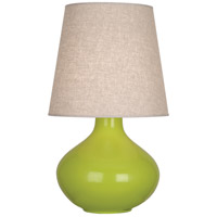 Robert Abbey AP991 June 31 inch 150 watt Apple Table Lamp Portable Light in Buff Linen