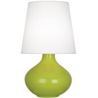 Robert Abbey AP993 June 31 inch 150 watt Apple Table Lamp Portable Light in Oyster Linen
