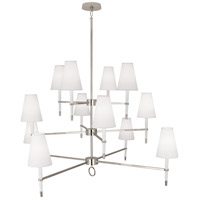 Robert Abbey AW674 Jonathan Adler Ventana 12 Light 15 inch Chandelier Ceiling Light