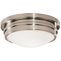 Robert Abbey B1316 Roderick 1 Light 15 inch Antique Silver Flushmount Ceiling Light
