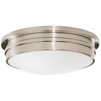 Robert Abbey B1317 Roderick 3 Light 15 inch Antique Silver Flushmount Ceiling Light