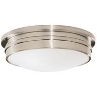 Robert Abbey B1317 Roderick 3 Light 15 inch Antique Silver Flushmount Ceiling Light