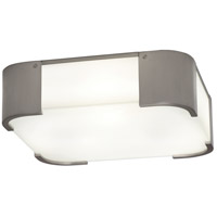 Robert Abbey B1319 Bryce 3 Light 14 inch Brushed Nickel Flush Mount Ceiling Light