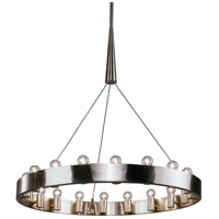 Robert Abbey B2091 Rico Espinet Candelaria 18 Light 15 inch Brushed Nickel Chandelier Ceiling Light
