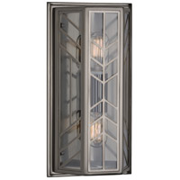 Robert Abbey B3400 Octavius 2 Light 8 inch Blackened Nickel Wall Sconce Wall Light photo thumbnail