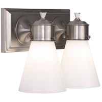 Williamsburg Blaikley 2 Light 13 inch Brushed Nickel Wall Sconce Wall Light