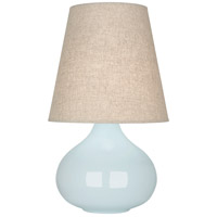 Robert Abbey BB91 June 24 inch 150 watt Baby Blue Accent Lamp Portable Light