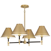 Robert Abbey Jonathan Adler St. Germain 4 Light Chandelier in Polished Brass BK843