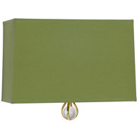 Robert Abbey BN342 Williamsburg Custis 1 Light 11 inch Modern Brass Wall Sconce Wall Light