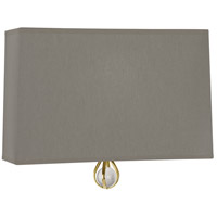 Robert Abbey BN351 Williamsburg Custis 1 Light 11 inch Modern Brass Wall Sconce Wall Light