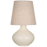 Robert Abbey BN991 June 31 inch 150 watt Bone Table Lamp Portable Light in Buff Linen