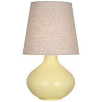 Butter Ceramic June Table Lamps