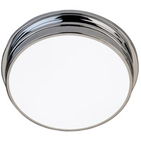 Roderick 2 Light 14 inch Polished Chrome Flush Mount Ceiling Light