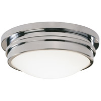Robert Abbey C1316 Roderick 1 Light 15 inch Polished Chrome Flushmount Ceiling Light