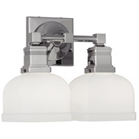 Robert Abbey C1327 Taylor 2 Light 12 inch Polished Chrome Wall Sconce Wall Light