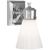 Robert Abbey C340 Williamsburg Blaikley 1 Light 6 inch Polished Chrome Wall Sconce Wall Light