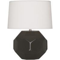 Robert Abbey CF02 Franklin 16 inch 60.00 watt Coffee Glazed Ceramic Accent Lamp Portable Light
