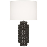 Robert Abbey Coffee Ceramic Table Lamps