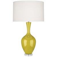 Robert Abbey CI980 Audrey 34 inch 150 watt Citron Table Lamp Portable Light