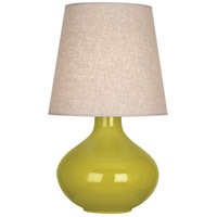 Robert Abbey CI991 June 31 inch 150 watt Citron Table Lamp Portable Light in Buff Linen