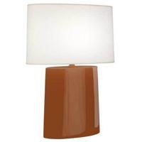 Robert Abbey CM03 Victor 26 inch 100.00 watt Cinnamon Glazed Ceramic Table Lamp Portable Light