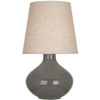 Robert Abbey CR991 June 31 inch 150 watt Ash Table Lamp Portable Light in Buff Linen