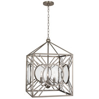 Robert Abbey D1420 Fineas 4 Light 18 inch Dark Antique Nickel Pendant Ceiling Light