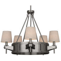 Robert Abbey Caspian 5 Light Chandelier in Dan D2003